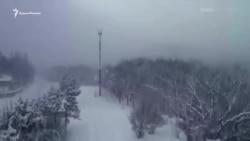 Синоптики в Крыму прогнозируют незначительное потепление и гололедицу