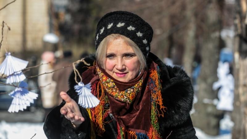 «Ангелы памяти»: тихая акция почтения памяти героев Небесной сотни в Киеве (фотогалерея)