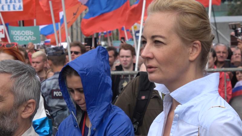 Жена Алексея Навального улетела из России – СМИ