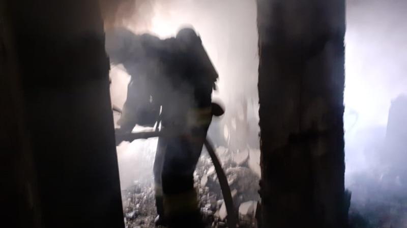 В Большой Ялте сгорел деревянный дом на 18 квартир – Аксенов