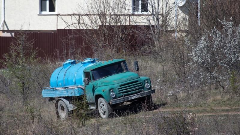 В Симферополе очередная авария: власти обещают подвоз воды