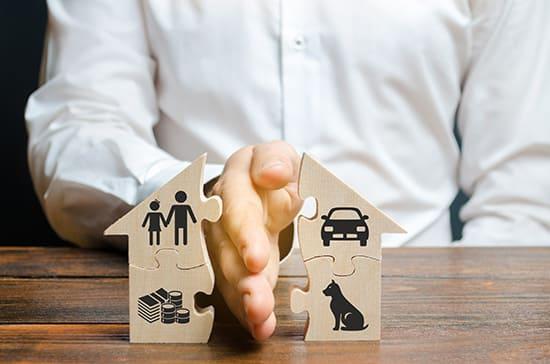 Юридическая помощь в проведении раздела имущества