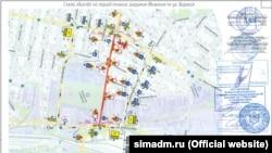 В Симферополе продлили ограничение движения на одной из улиц – власти