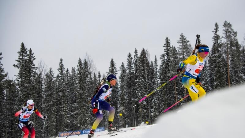 Украина финишировала 10-й в последней эстафете сезона Кубка мира по биатлону
