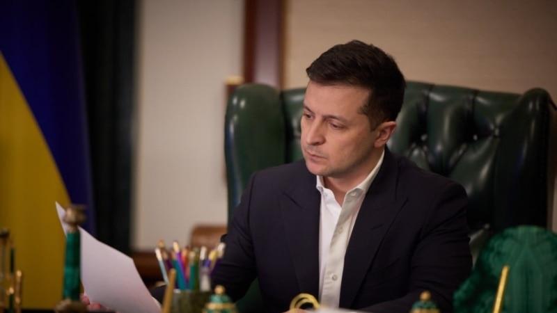 Зеленский прокомментировал введение санкций против Януковича, Аксенова и Поклонской