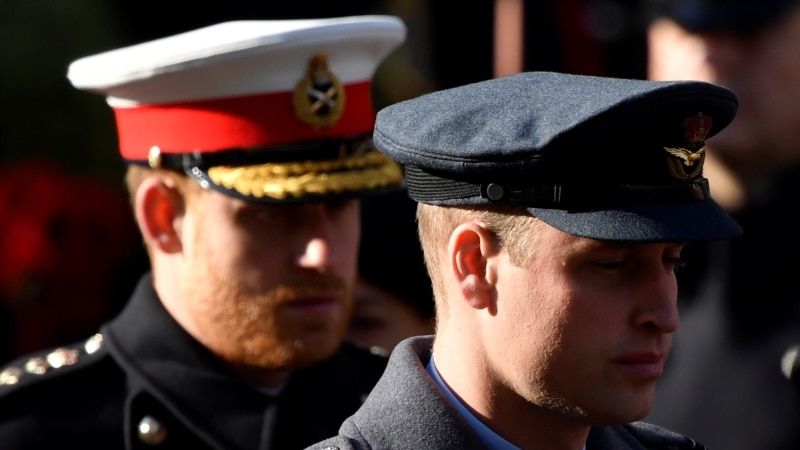 Великобритания: принц Уильям прокомментировал интервью брата Опре Уинфри