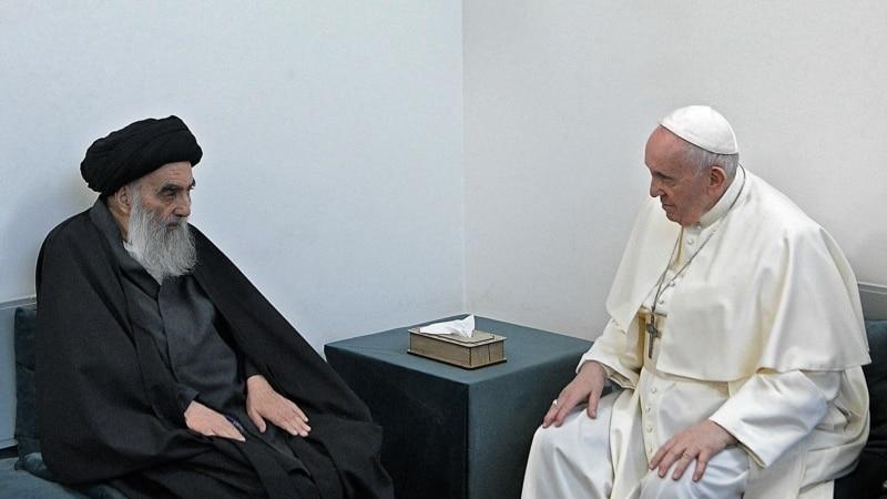 Папа Франциск встретился в Ираке с лидером шиитов