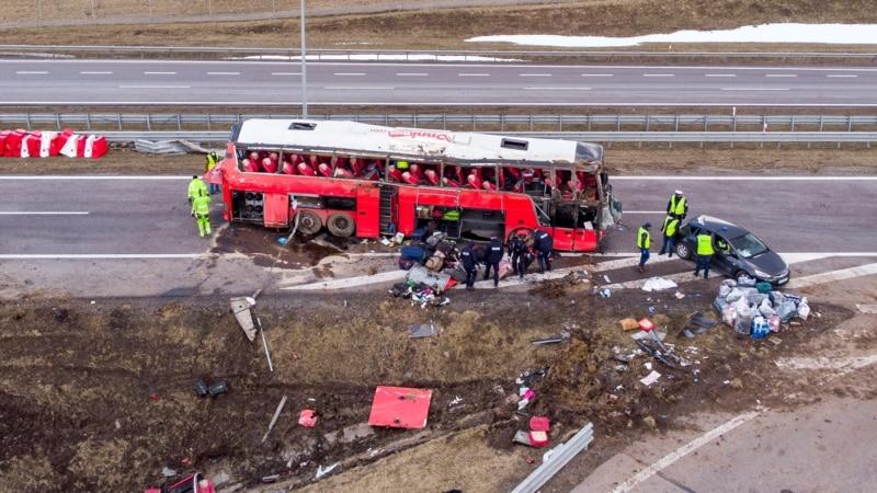 ДТП с автобусом Познань-Херсон: тела погибших отправят в Украину после идентификации – генконсул в Люблине