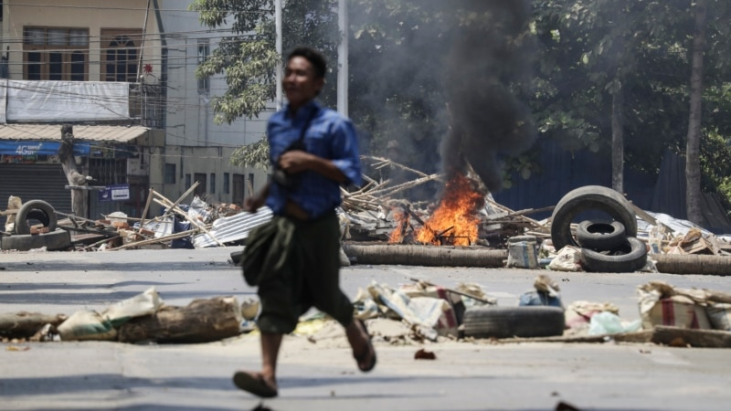 В Мьянме сообщают о десятках погибших в День вооруженных сил страны