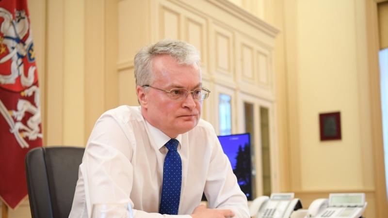 «Мы с вами»: президент Литвы высказался в поддержку «Крымской платформы»