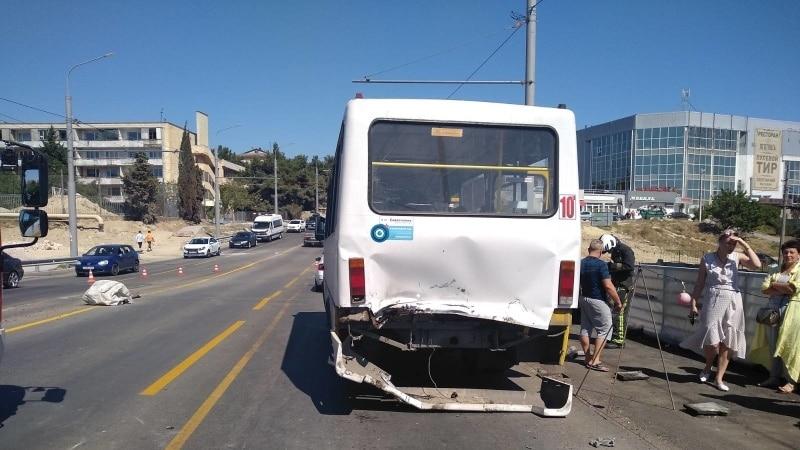 В Севастополе будут судить водителя, который протаранил пассажирский автобус – прокуратура