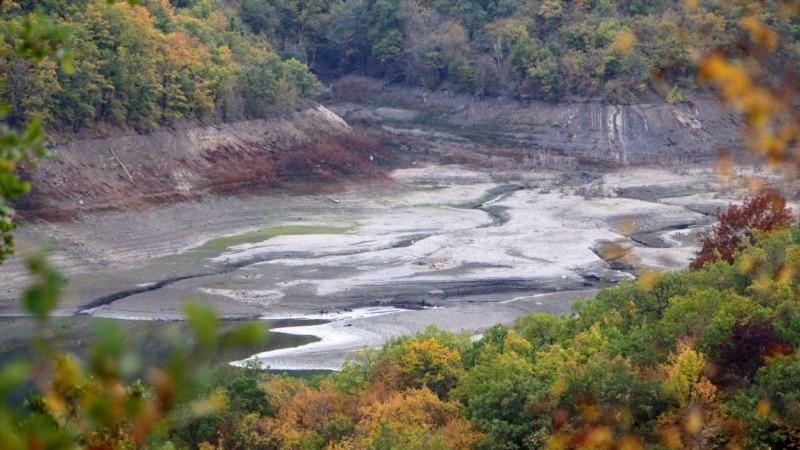 Водоснабжение Алушты: приток воды в Изобильненское водохранилище равен расходу – власти