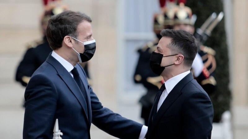 Президент Зеленский рассказал об итогах втречи сЭммануэлем Макроном
