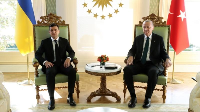 Владимир Зеленский начал визит в Турцию (+фото)